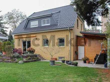 Urbanes Familienheim: Gepflegtes 4,5-Zi.-EFH mit Garten in zentraler Lage in Berlin-Buckow