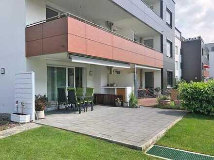 4-Zimmer-Erdgeschoss-Wohnung in Landsberg-West