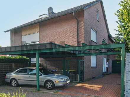 Nahe Innenstadt: Große, vermietete 4-Zi.-Wohnung in familienfreundlicher Lage von Rhede