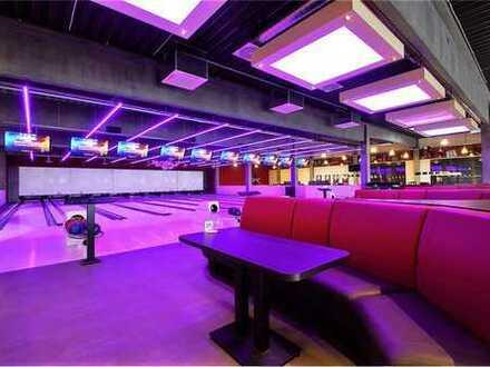 RE/MAX - TOP-Investment! Modernes Bowlingcenter mit Eventbereich und Gastronomie