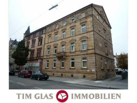 ++ Großzügige 3 ZKBBalkon Wohnung im 2.OG in zentraler Lage, nahe Bahnhof! ++
