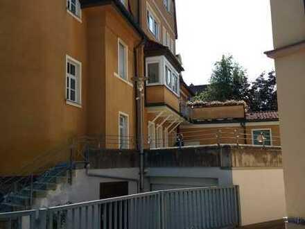 1-Zimmer-Wohnung mit Balkon und Einbauküche in Kulmbach