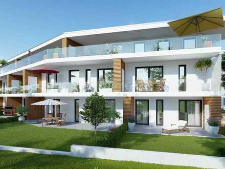 Ein Penthouse in einer Wohnoase