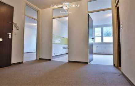 Charmante 3- oder 4-Zimmer-Wohnung mit großem POTENTIAL sucht neuen Eigentümer