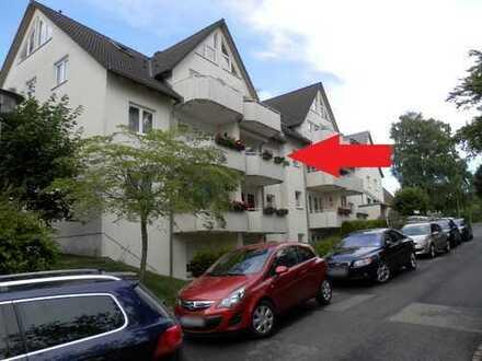 Gemütliche 2-Raumwohnung im Obergeschoss mit niedrigen Heizkosten