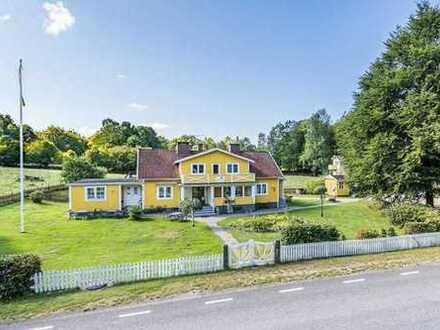 Stilvolles Herrenhaus mit viel Platz und Nähe zum See Möckeln