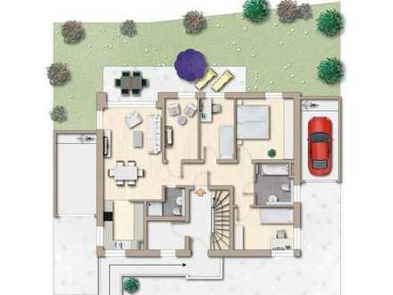 Attraktive 5-Zi.-Neubau-Erdgeschoss-Wohnung mit großem Garten in Wendlingen