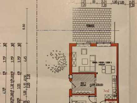 Erstbezug mit Einbauküche und Garten: neue 2-Zimmer-EG-Wohnung in 74722 BUCHEN