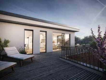 Neubau - Kleine Penthousewohnung für Sonnenanbeter (W46)