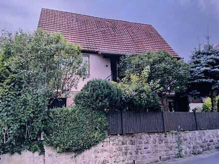 Idyllische Einfamilienhaus am Rande der Gemeinde Mittelsinn
