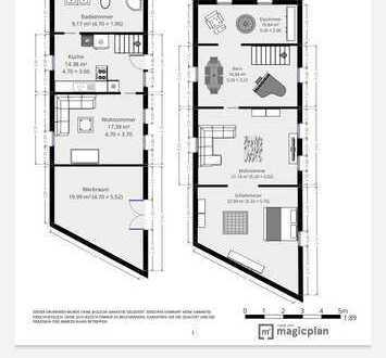 Modernisiertes Einfamilienhaus mit vier Zimmern und EBK in Taunusstein, Taunusstein