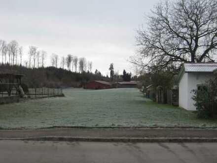 Baugrundstück für Wohnhaus in Kümmerazhofen