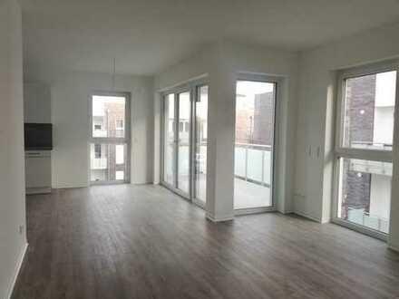 Neubau! 3 Zi.-Wohnung mit Tiefgarage, Einbauküche und Aufzug