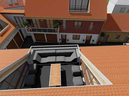 Provisionsfrei | Haus 2 | Wohnung 6 | 3 Zi. Maison.-Whg. + Balkon+Dachterrasse | OG + DG