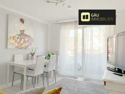 Investoren aufgepasst! Top vermietete, sehr gepflegte 2-Zimmer-Wohnung mit Balkon in der Nordstadt