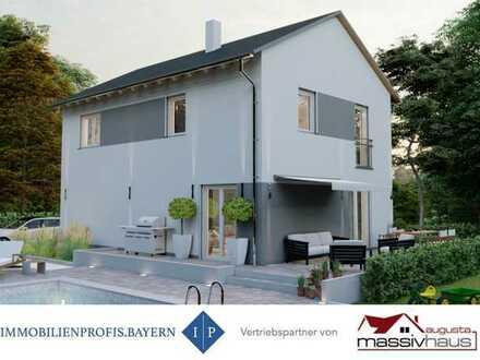 """Großzügiges Energie-Spar-Haus """"Komfort 141"""" auf wunderschönem Grundstück in Prittriching"""