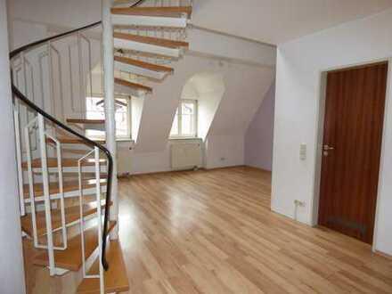4-Zimmer-Galeriewohnung im Zentrum von Memmingen zu vermieten