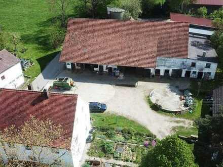 Ein einmaliges Anwesen! Großzügiges Wohnhaus mit vielseitig nutzbaren Wirtschaftsgebäuden