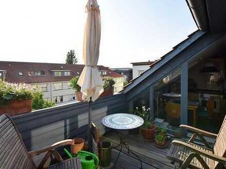 Sehr schöne sonnige Dachgeschosswohnung
