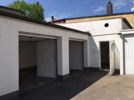 1x Lagerraum + 2x Garage zu vermieten