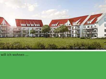 Große 2-Zimmer-Neubauwohnung mit Balkon - Energieeffizienzhaus 40
