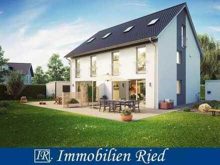 Modern gestaltete Doppelhaushälfte (Neubau) in ruhiger Wohngebietslage in Bergheim