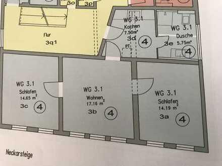 3 Zimmer/ Küche/Bad komplett saniert Innenstadt Nürtingen