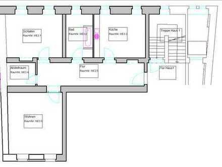 Attraktive 2-Raum-Wohnung im Zentrum von Königsbrück zur Miete