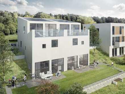 Architekten-Doppelhaushälfte – mitten in der Natur nahe bei Stuttgart!