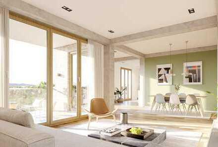 Exklusive 4-Zimmer Loft-Wohnung auf ca. 146 m² mit Gartennutzung