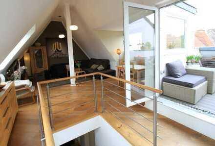 Traumwohnung! 3,5 Raum Maisonette-Wohnung mit Südloggia im Klinikviertel!