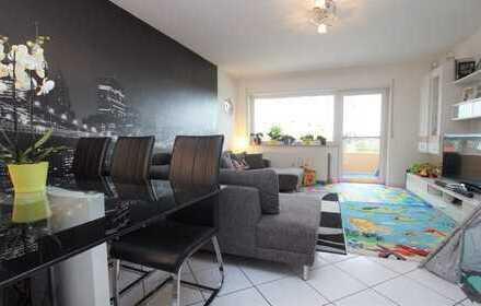 Willkommen in den eigenen vier Wänden! Schöne Eigentumswohnung mit Weitblick in Hockenheim!