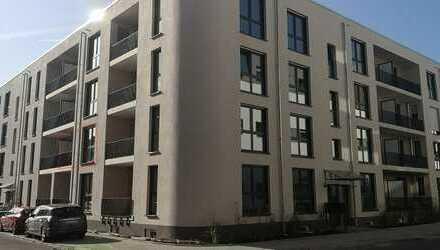 Erstbezug/Teilmöbliert :Stilvolle 2 Zimmerwohnung mit Küche,Balkon & Stellplatz in der Weststadt