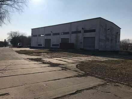 Lagerhalle 1.000 m², Grundstück 4.850 m² für Logistik und Transport geeignet