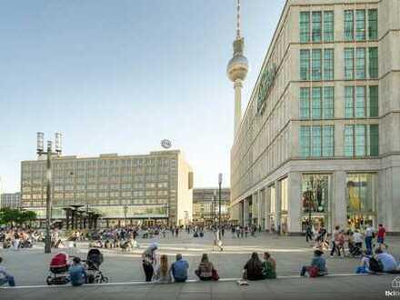 Gepflegte 1-Zimmerwohnung - nur 5 Minuten zu Fuß vom Alexanderplatz