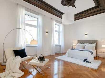Stilaltbau Etagenwohnung (Beletage) mit 5 Zimmern im Frankfurter Westend