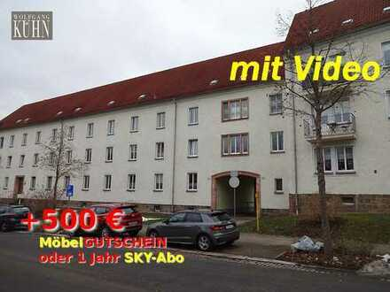 500,- geschenkt!!! Marienthal-Ost, 3-R-Whg., Kü + Bad mit Fenster, Stellplatz