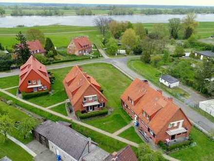 Nur 100 m bis zum Elbstrand: 4-Zimmer-Wohnung in Schnackenburg/E.