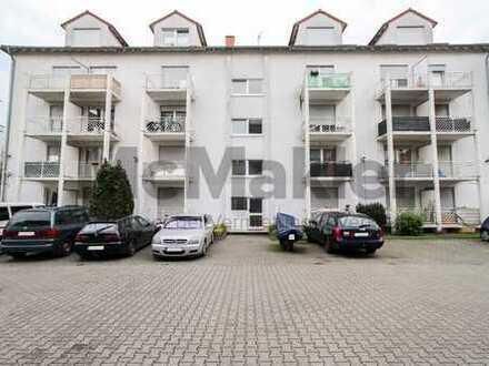 Helle 2-Zimmer-Wohnung mit großem Balkon und Gestaltungspotenzial!
