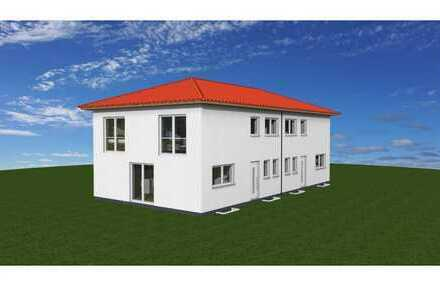 Doppelhaushälfte auf Erbpachtgrundstück - Massiv-Neubauhaus mit Vollkeller nach Standard KFW55 - Fer