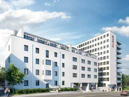 Barrierefreies 1,5-Zimmer-Apartment mit durchdachter Raumaufteilung im Zentrum von Würzburg