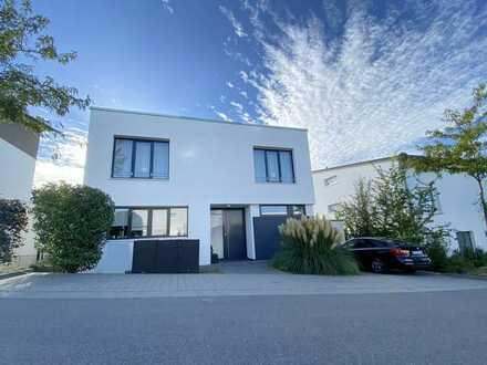 Exklusiv & modern!  Freistehendes Einfamilienhaus der Extraklasse in Karlsruhe-Palmbach! 360°-Tour!