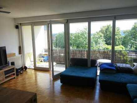 Keine Käuferprovision! Moderne 3-Zi.-ETW mit bodentiefen Fenstern – tolle Aussicht – zentrumsnah -