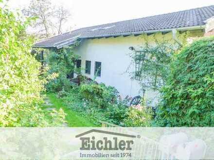 EICHLER IMMOBILIEN: Irschenhausen - Grundstück mit Bestandsgebäude