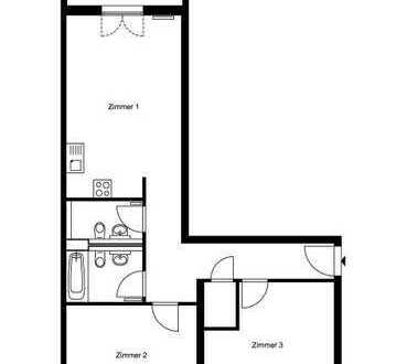 3-Zimmer-Wohnung in Alt-Hohenschönhausen
