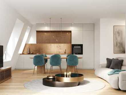 3-Zimmer-Dachgeschosstraum mit 2 Balkonen im grünen Münchner Süden mit guter Anbindung