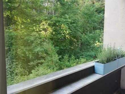 3 Zimmer Wohnung in einer grünen Oase
