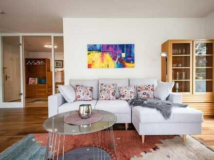 Edle möblierte 3 Zimmer Wohnung in Harlaching mit hochwertiger Ausstattung