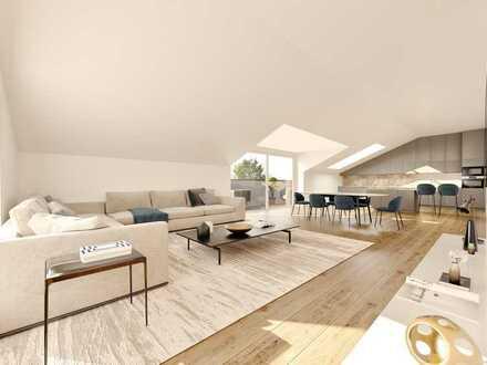 PENTHOUSE: Sonnige 4-Zimmer-Wohnung mit großer Dachterrasse und traumhafter Aussicht!