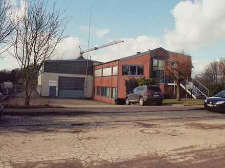 Bürogebäude mit Gewerbehalle und Sozialtrakt